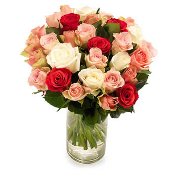 Soft roses bouquet