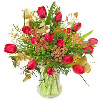 Bouquet De Fleurs Pour Un Anniversaire