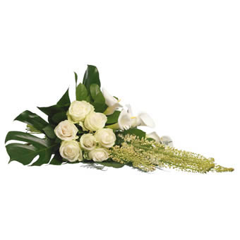 Rebirth funeral bouquet