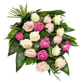 Funeral bouquet with Roses