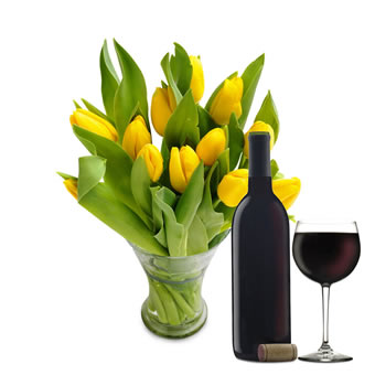 Yellow Tulips Giftset