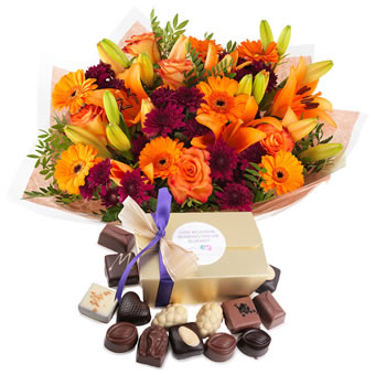 Cadeau Orange Choco