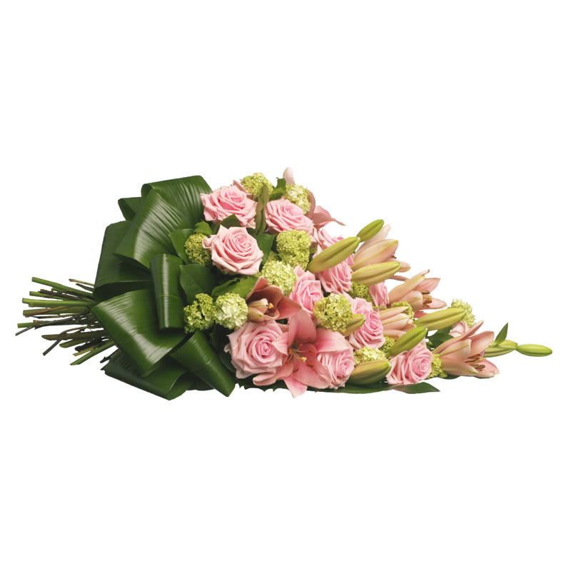 Roses funeral bouquet