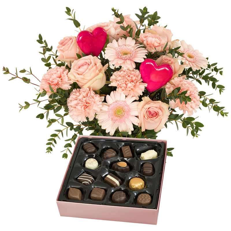 Coffret Rose gourmandise