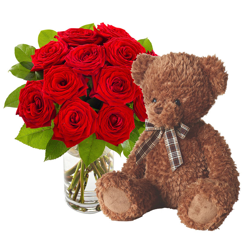 Romantic teddy