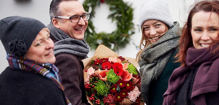 Livraison de fleurs à l'international