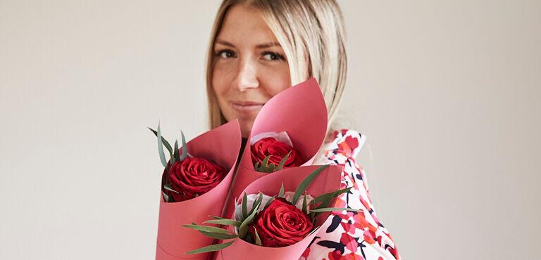 Des fleurs pour elle