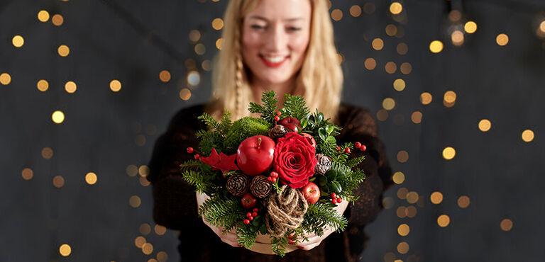 Kerstbloemen